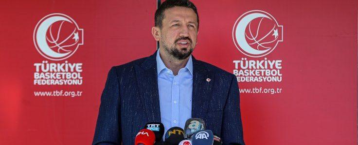 Türkiye Basketbol Federasyonu (TBF) Başkanı Hidayet Türkoğlu